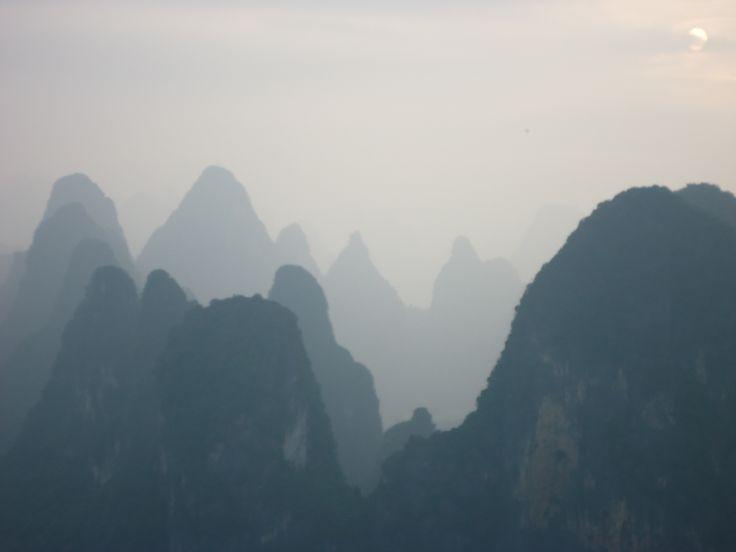 Visiting Yangshuo County, China