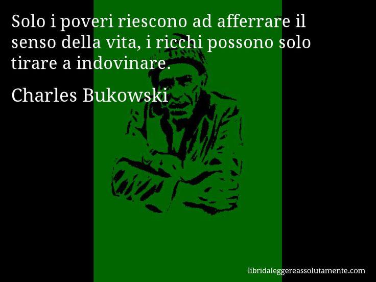 Cartolina con aforisma di Charles Bukowski (46)