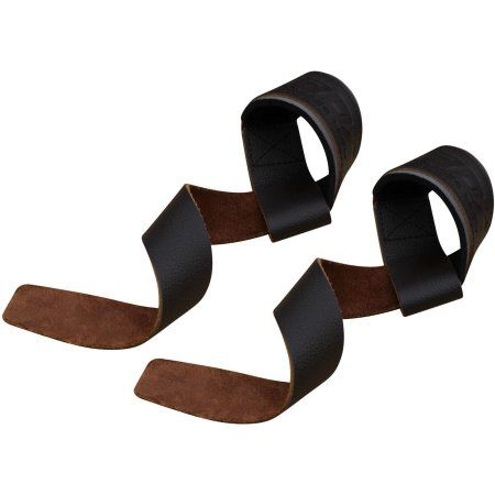 Rdx Pro Leather Gym Weight Lifting Wrist Strap Support, Brown