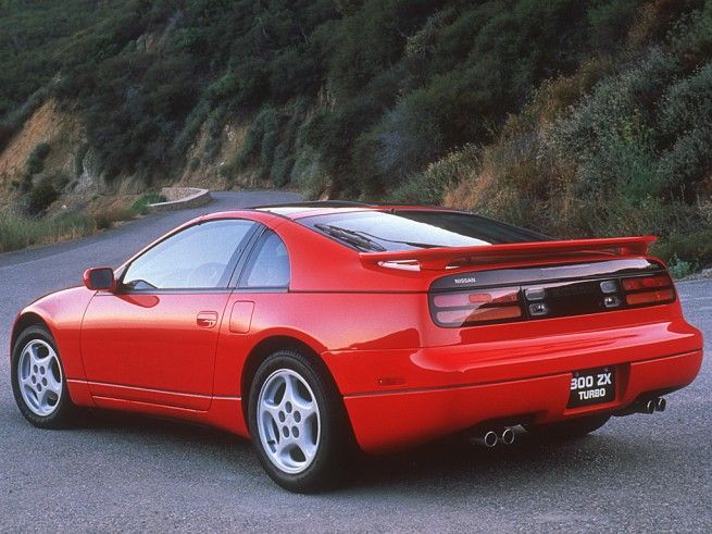 NEWS FLASH: This is a 25 year old car —300ZX