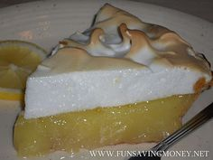 The Best Lemon Meringue Pie Recipe-Easy to Make and Tastes So Good! #Pie #Lemon #Meringue