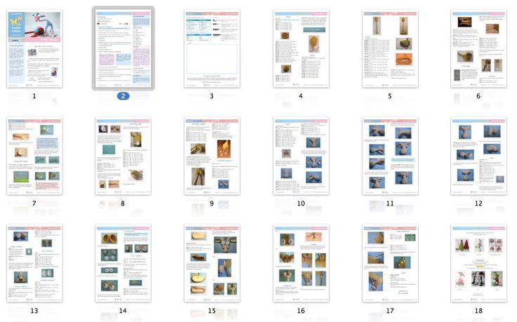005 Giraffe Crochet pattern PDF file. Amigurumi by LittleOwlsHut