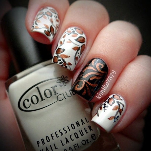 Toe Nail Designs 2015 Fall: 25+ Best Ideas About Fall Nail Designs On Pinterest