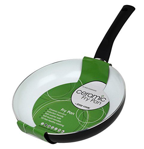 buy now   									£11.93 									  									Pendeford Easy Cook Large Heavyweight 28cm Ceramic Coated Frying Cooking Pan Easy to use , easy to clean non-stick ceramic coating, soft grip handles, 3mm light weight  ...Read More
