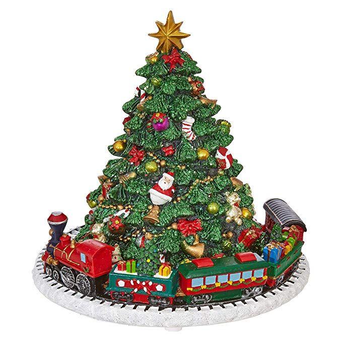 "NEW~RAZ Imports~24/"" ELEGANT ICED CONE TREE~Set 3~Christmas Tabletop Topper Decor"