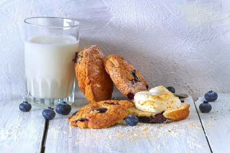 Blåbärsscones med kardemumma  Recept | Dr. Oetker