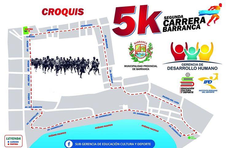 2° Carrera 5k Barranca 2016  En esta oportunidad comentaremos, en blog de César Hinojosa Quiroz, la  Segunda Carrera de 5 kilómetros organ...