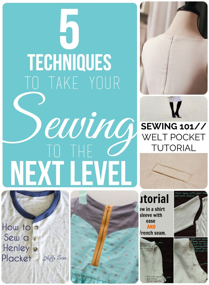 5 awesome sewing techniques that you MUST try!