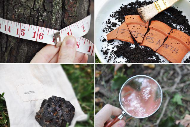Summer Scavenger Hunt: part detective/part scientist/part archeologist= all fun! Via Imagine Childhood