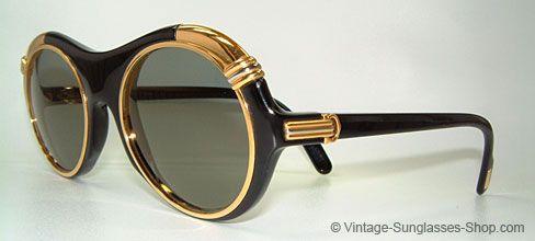 Vintage Cartier Sunglasses.  amazing.