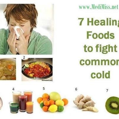 7 healing foods to fight the common cold