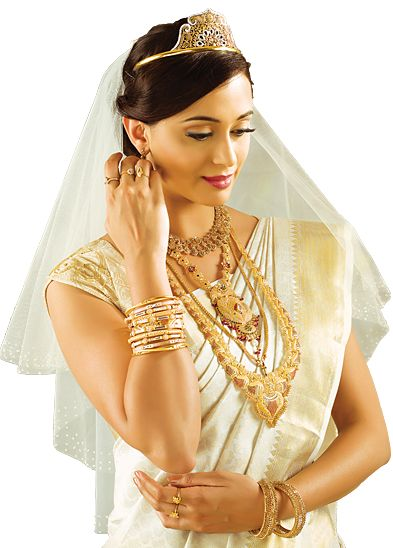 Hairstyle for christian wedding in saree