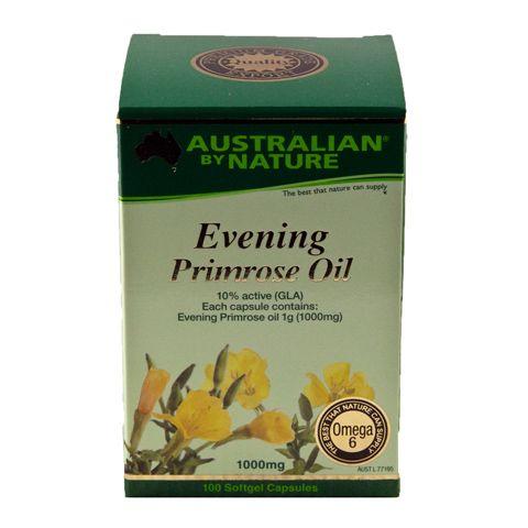 Evening Primrose Oil – Australian by Nature – 100 Capsules | Shop Australia