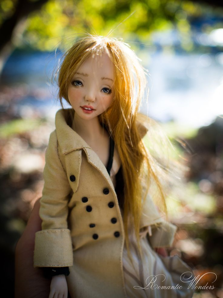 Handmade polymer clay BJD doll ''Bebe'' by Romantic Wonders