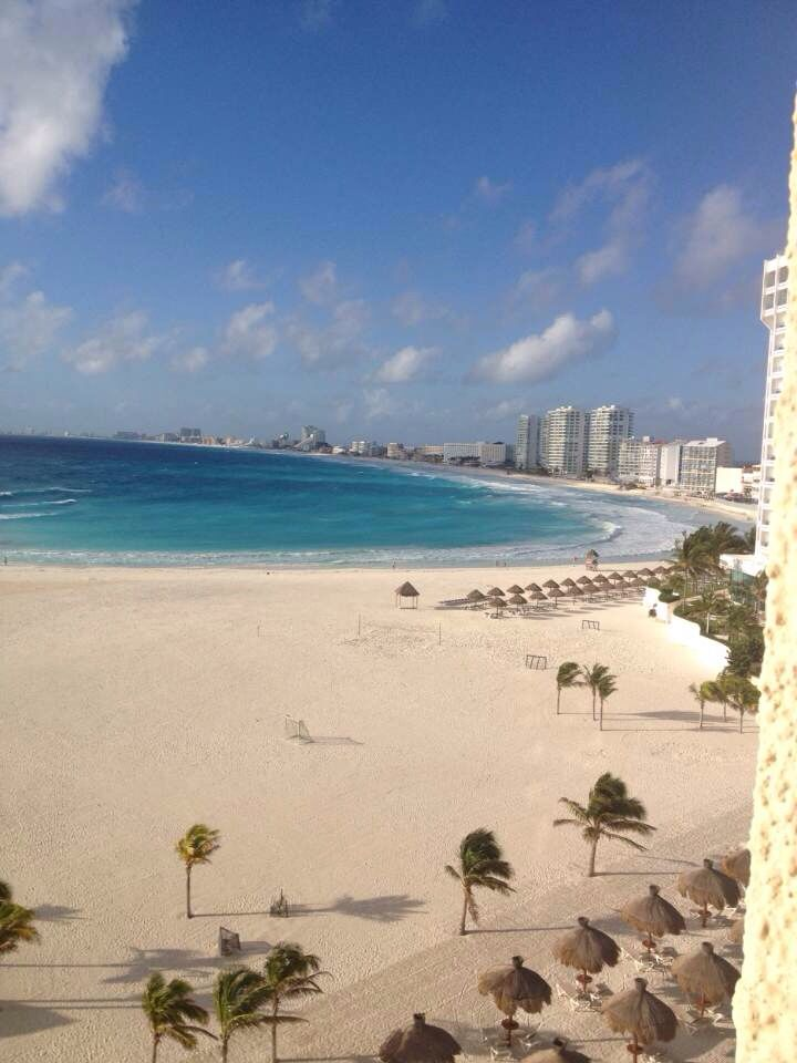 hotel view from cancun, mexico.