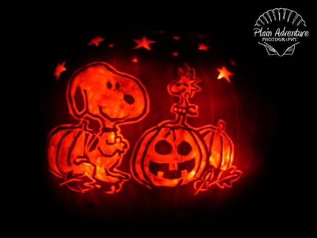 Best it s the great pumpkin carvings charlie brown