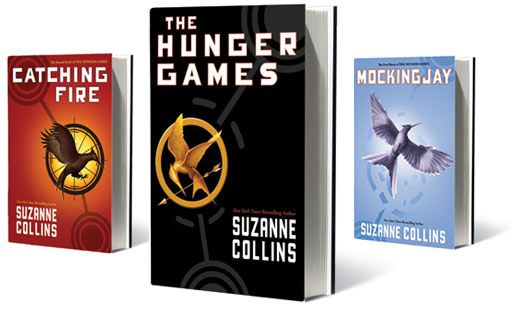 The Hunger Games Trilogy -- LOVE these books!! So intriguing and interesting!! I'm obsessed with them. I have read each one within at least 2 days. They get me hooked.
