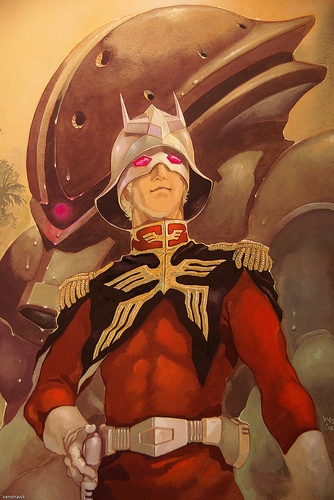 Char Aznable returns in the rank of Captain was promoted by Kycillia Zabi after he was discharge out by the military by Dozle Zabi due to the death of their younger brother Garma Zabi that Char's failed to protect. Now he has return once more as the Red Comet infiltrating backdoor the Earth Federation base on Jaburo.