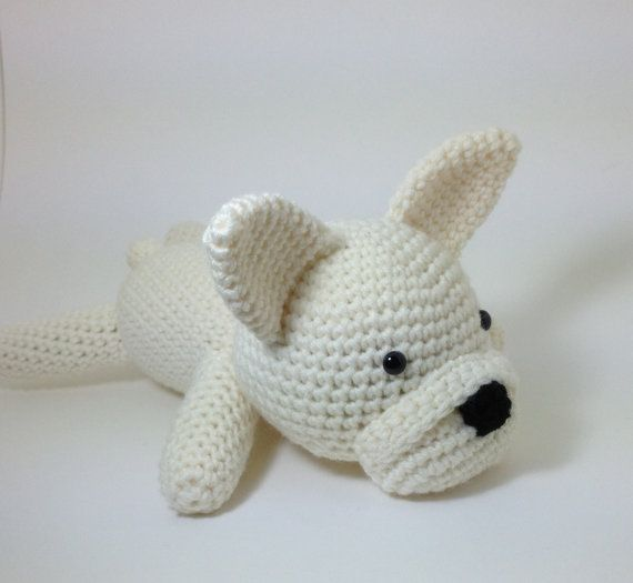 French Bulldog Stuffed Animal Dog Crochet Puppy Amigurumi ...
