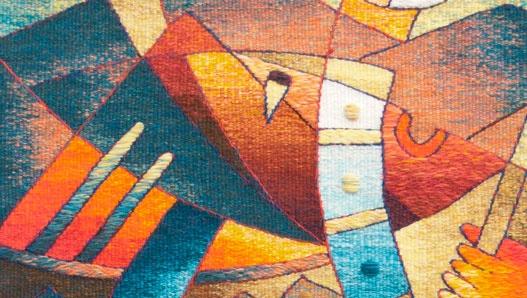 Sunset Tapestry Weaving