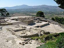 Minoische Kultur – Ausgrabungen von Phaistos