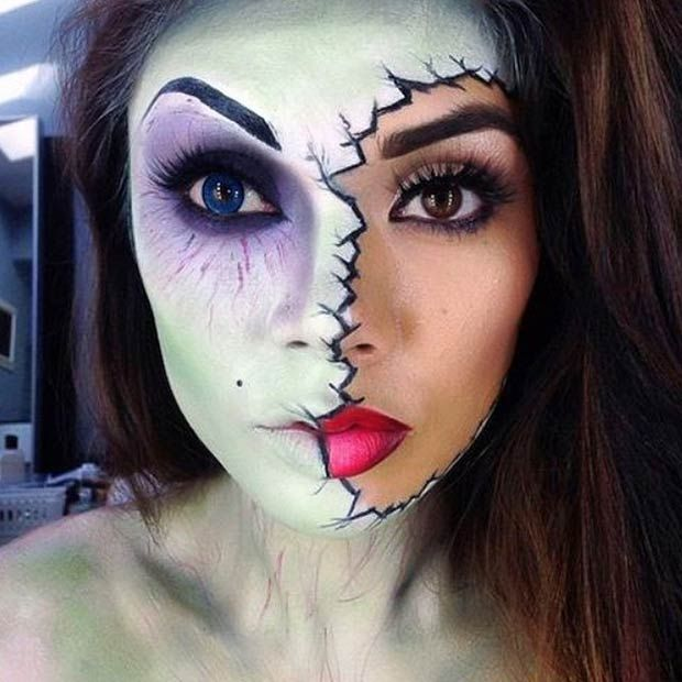 29 Jaw-Dropping Halloween Makeup Ideas | Page 2 of 2 | StayGlam