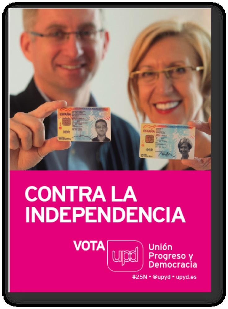 UPYyD. Cartell electoral eleccions 2012