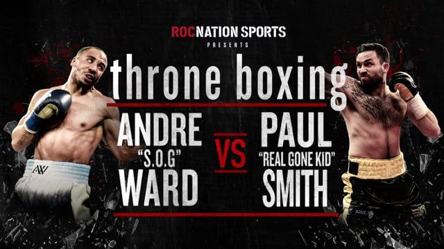 Great opportunity to design and animate ROC Nation presents Throne Boxing live boxing match Live spot on BET!