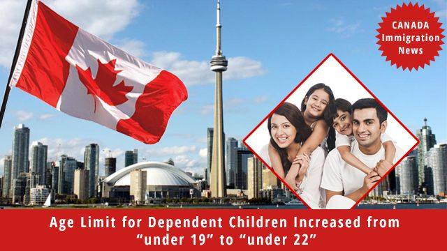 "#ImmigrationNews: October 27, 2017 – Ottawa, ON – The Government of Canada has changed the definition of the age of dependants from ""under 19"" to ""under 22,"" fulfilling a key mandate commitment of the Minister of Immigration, Refugees and Citizenship. This change will help more immigrant families stay together. When newcomer families are able to stay together, their integration into Canada, and their ability to work and contribute to their communities all improve. www.gepsi.com  #Canada…"