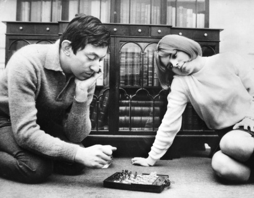serge gainsbourg and france gall: Gainsbourg Plays, Foto Pin-Up, Gall Plays, France Gall, Serge Gainsbourg, Plays Chess, Foto Rara, 60S French, French Actressmusician