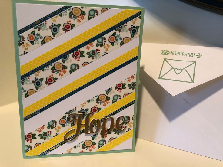 Excited to share the latest addition to my #etsy shop: Hope Christian Encouragement Card