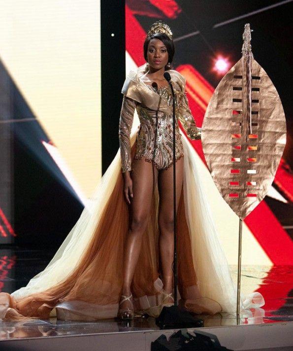 Miss universe japan dress style