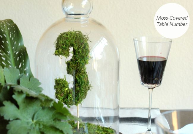 6 DIY Wedding Table Number Projects