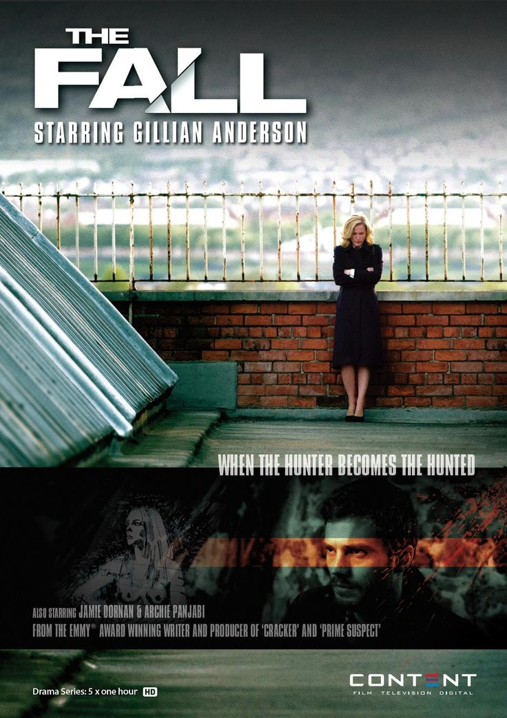 THE FALL, BBC Series, with Gillian Anderson -- Almost painfully gripping, multi-layered show about the search for a serial killer. I wonder if there will be a sequel.
