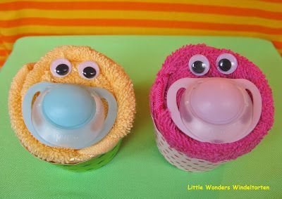 Little Wonders Windeltorten: Monstermäßig süße Cupcakes ♥