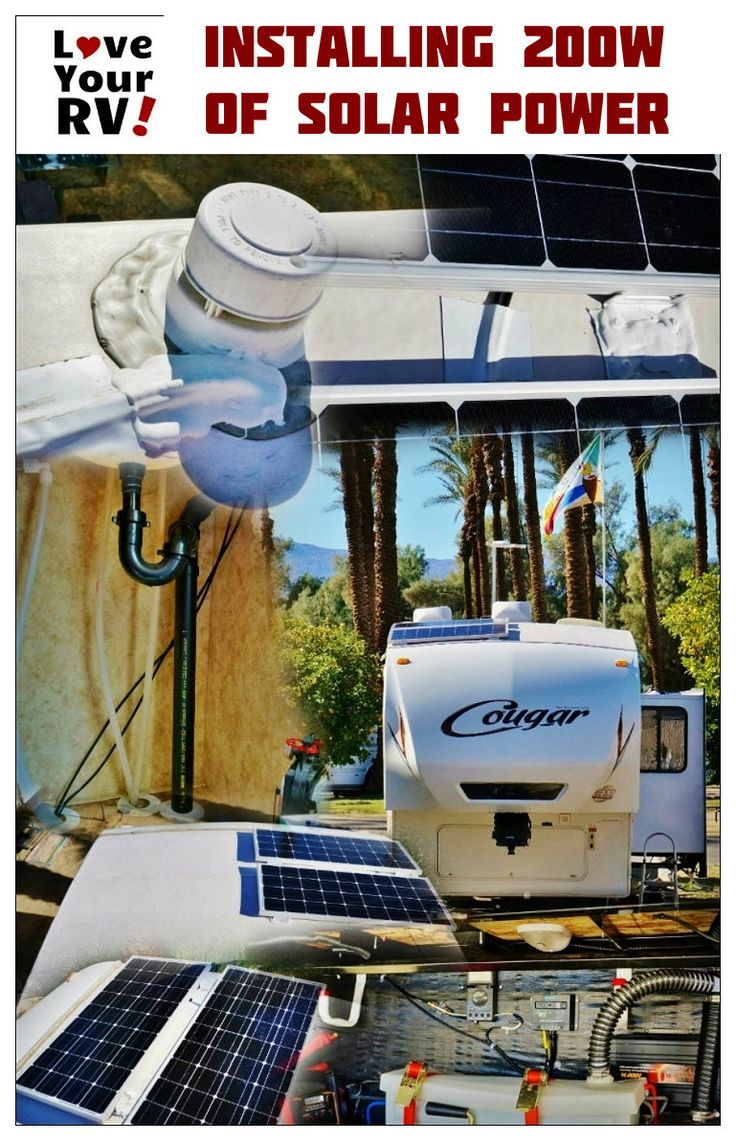 Installing A Renogy 200w Solar Kit In The Rv Solar Power