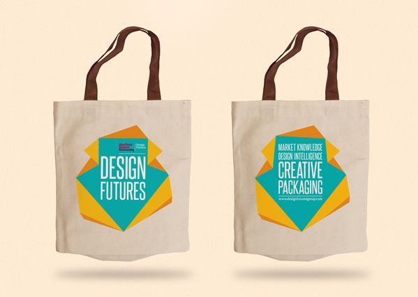 Design Futures exhibition materials on Behance