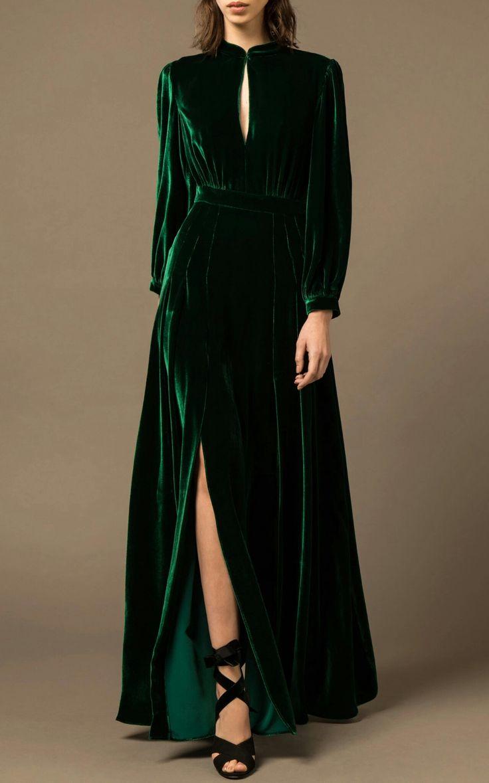 Rachel Diniz   – fashion – aesthetic revival – regal velvets for reclining in turret rooms