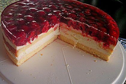 Himbeer - Käsesahne - Torte 1