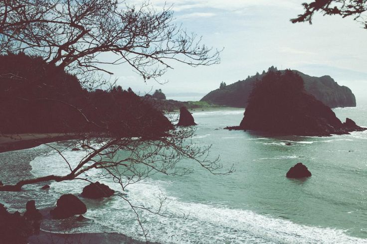 Nestled among the Redwoods, this state beach offers incredible water views, is surrounded by rock formations, and wildlife. Trinidad State Beach   Trinidad, CA