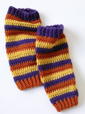 Free Crochet Pattern: Leg Warmers