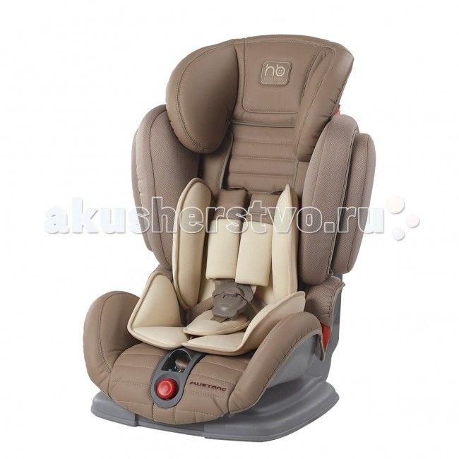 Автокресло Happy Baby Mustang  Автокресло Happy Baby Mustang — автомобильное кресло группы I-II-III (для детей от 9 до 36 кг). Регулируемые по высоте пятиточечные ремни с мягкими накладками обеспечивают безопасность и комфорт малыша. Уникальность этого автокресла в том, что оно регулируется по ширине и ребенку будет в нем комфортно в любое время года. Защита от боковых ударов с регулируемым по высоте подголовником обеспечивает дополнительную безопасность. Кресло имеет 4 угла наклона спинки…