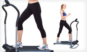 Groupon - EZ Stride Foldable Treadmill in [missing {{location}} value]. Groupon deal price: $99.99