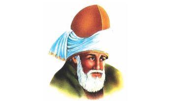Agama Cinta: Jalaluddin Rumi dalam Lukisan Digital