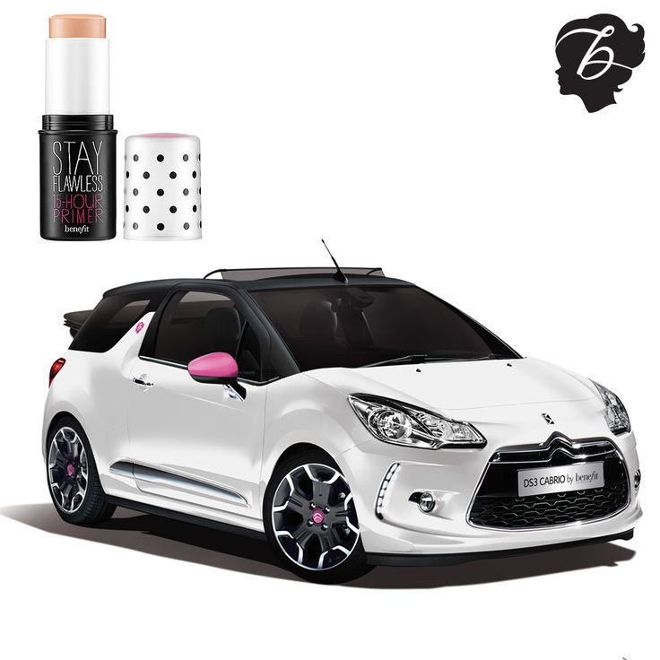 Actual drool over our new Stay Flawless Citroen DS 3! #drivenbybeauty