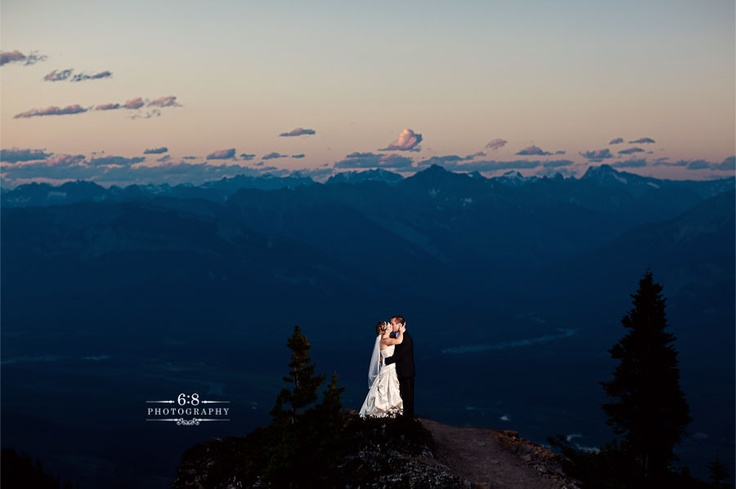 Kicking Horse Mountain Resort - Views from 8,000 feet and the best Bison Short Ribs you could ever hope to eat. Caylie and Brett's amazing wedding here: http://68photography.ca/2011/08/kicking-horse-wedding-photographers-cb/