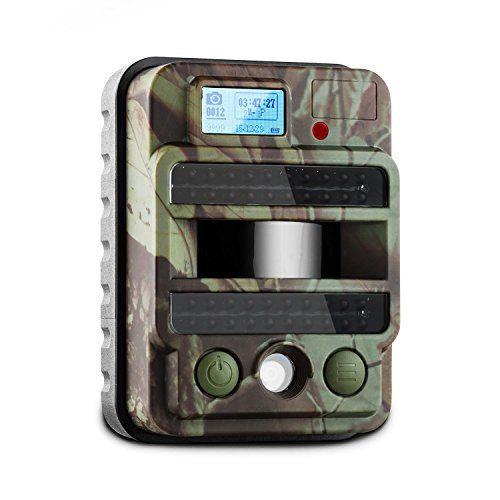 DURAMAXX GRIZZLY MAX PIR Caméra de surveillance de gibier pour la chasse ou l'observation de la faune (caméra embarquée HD 8MP, slot SD,…