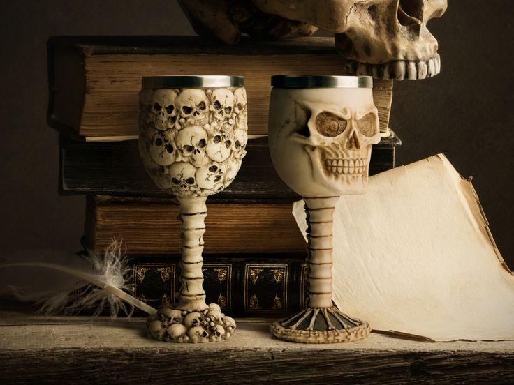 Dødninghode-vinglass