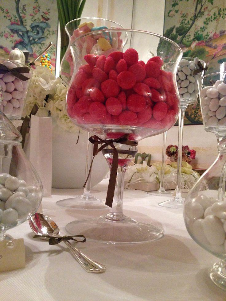 catering degustazione confetti e caramelle