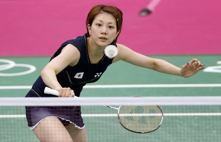 #sporty hair style# #short hair# Japanese badminton player Reiko Shiota